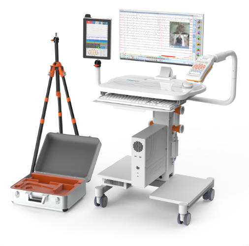 NeuroTablet with cart